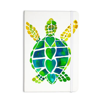 "Catherine Holcombe ""Turtle Love"" Green Teal Everything Notebook"