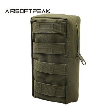AIRSOFTPEAK MOLLE EDC Pouches Utility Bags Tactical Vest Waist Pouch Bag Wasit Pack Equipment for Outdoor Hunting Paintball