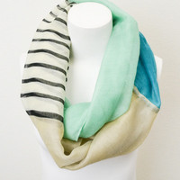 For the Love of Stripes Infinity Scarf