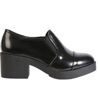 Gracie Chunky Heeled Slide On