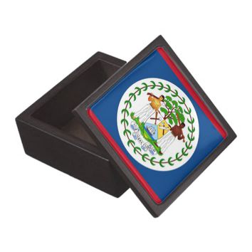 Belize Flag Premium Gift Box