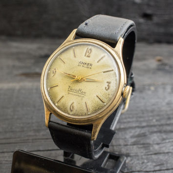Vintage Anker Nivaflex watch swiss watch mens watch