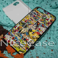 Marvel Comics Iron Man iPhone 4 / 4S / 5 Case Samsung Galaxy S3 / S4 Case Cover