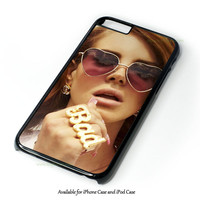Lana Del Rey Design for iPhone and iPod Touch Case
