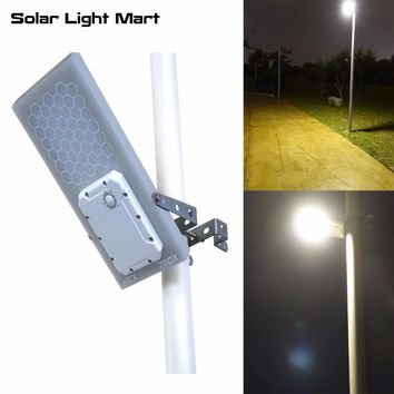 Solar LED 975 Lumen Street Light, Waterproof, 3 Brightness Levels