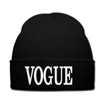 VOGUE beanie or SNAPBACK hat