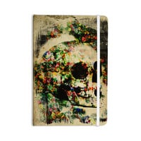 """Frederic Levy-Hadida """"Floral Skully"""" Everything Notebook"""