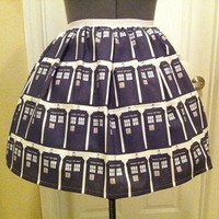 tardis skirt! #doctorwho #skirt #cute #mylife
