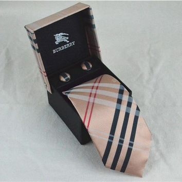 Burberry Tie cheap fashion accessories luxury brand mens tie Business Casual high quality