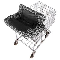 Eddie Bauer Grocery Cart Cover Dark Grey Black