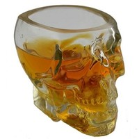 Skull Oversized Crystal Shot Glass