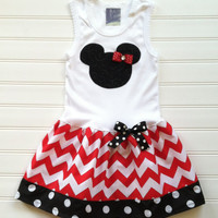 Girls Custom Dress Chevron Dress Girls Dress Tank Dress Girls Clothing Kids Birthday Baby Toddlers Size 6 12 18 24 Months Girls 2 3 4 5 6 8