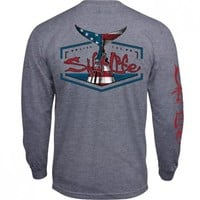 American Tail Long Sleeve Pocket Tee - Short Sleeve Tees - Tops - Mens