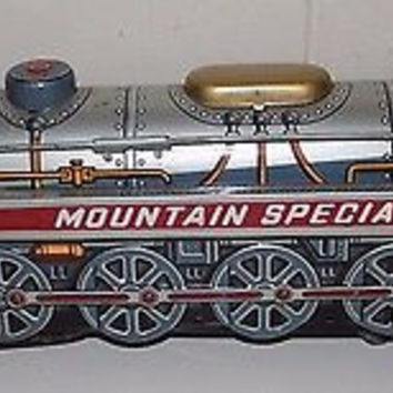 Mountain Special Tin Train Modern Toys Japan