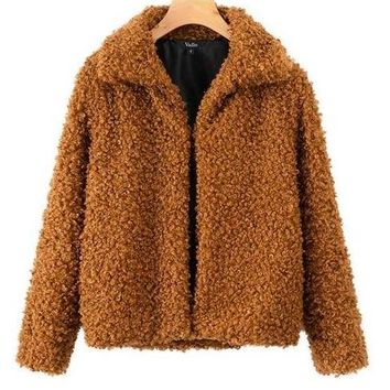 Furry Teddy Jacket