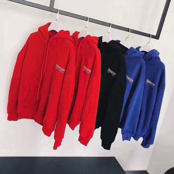 balenciaga fashion logo hooded sport top sweater sweatshirt hoodie 10