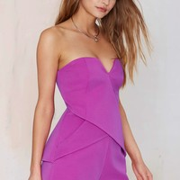 Finders KeepersIn Between Days Strapless Romper