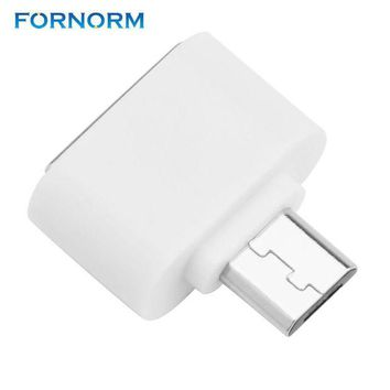 DCCKJY1 FORNORM Mini Micro Usb OTG Cable To USB OTG Adapter For Samsung HTC Xiaomi Sony LG Android OTG Card Reader Usb OTG Adapter