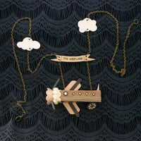 The Airplane Necklace / Banner / Clouds / Wheels and Wings