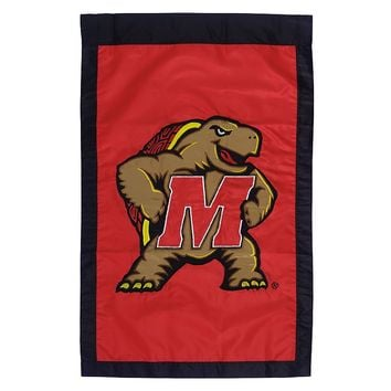 Maryland Terrapins Flag (Red)