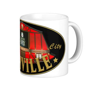 Nashville Music City 11 oz Classic White Mug