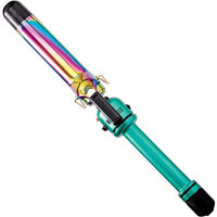 Turquoise Rainbow 1-1/4 Inch Curling Iron