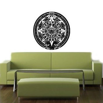 Mayan Calendar Cute Wall Vinyl Sticker Decals Art Mural T398