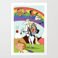 Bob's Burgers Art Print by webpagenotfound