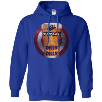 AIR FORCE : Dilly Dilly : G185 Gildan Pullover Hoodie 8 oz.