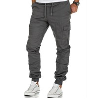 Cargo Pants Men Multi-pocket Trousers for Work Wear Men's Tatting Leisure Trousers Casual Pencil Jogger Cargo Pants Street Wear