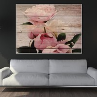 Canvas painting Wall Art Pictures home decor prints on Flowers and butterflies Wall poster decoration for living room no frame