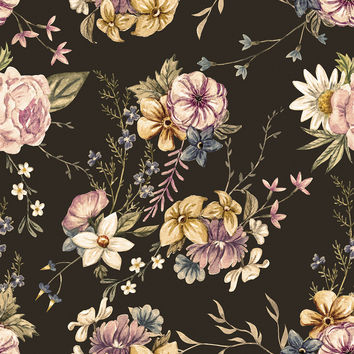 Victorian Flora Removable Wallpaper