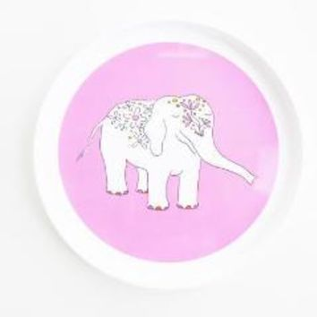 Pink Elephant Eco-Friendly Plate
