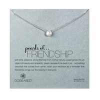 "Sterling Silver 16"" Pearl of Friendship Necklace"