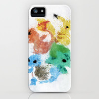 Pokemon Starters iPhone & iPod Case by Melissa Smith