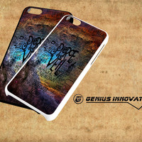 Pierce The Veil Lyric Logo Quote Galaxy Samsung Galaxy S3 S4 S5 Note 3 , iPhone 4(S) 5(S) 5c 6 Plus , iPod 4 5 case