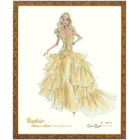 Limited Edition Vintage Shelby 50th Anniversary Barbie Print