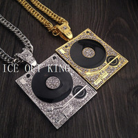 Jewelry Shiny Gift New Arrival Stylish Hip-hop Star Music Metal Necklace [6542727043]