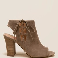 XOXO Battista Side Lace Up Shootie
