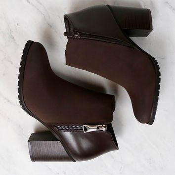 Molly ankle boot - brown