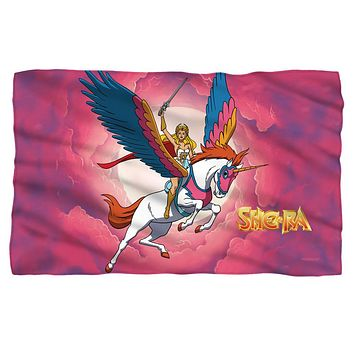 She Ra/Clouds Fleece Blanket