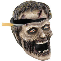 Zombie Head Ashtray