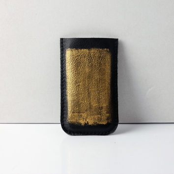iPhone 5 leather sleeve case pouch by RARAMODO on Etsy