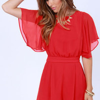 Sly Fox Red Romper