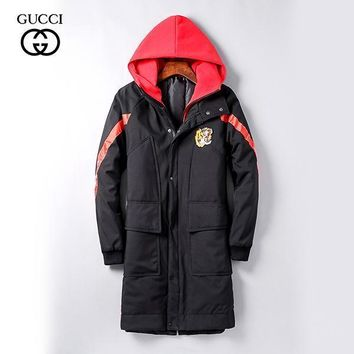 GUCCI Fashion Casual Quilted Cardigan Jacket Coat Hoodie