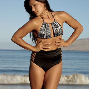 TONGA: Adjustable Create Your Own Slider BIKINI bathing suit TOP