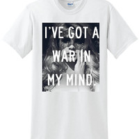 Lana Del Rey War in my mind shirt