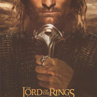 Lord of the Rings Aragorn 2003 Poster 22x34