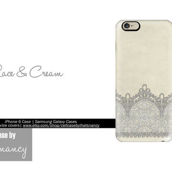 iPhone 6 Case Antique Lace iPhone 5S Case, iPhone 6 Case, Antique Lace Case, Vintage Lace, iPhone 4, iPhone 5C, iPhone 5, Samsung Galaxy