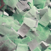Confetti - mint & silver - tissue paper confetti - baby shower - bridal shower - wedding - birthday party - table decorations
